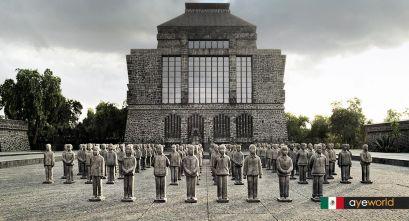 Arquitectura moderna y prehispánica, el museo Anahuacalli de Diego Rivera