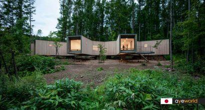 Casa en el Bosque de Florian Busch Architects. Plena inmersión en la naturaleza