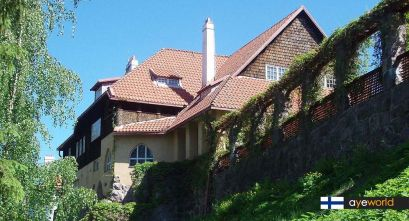 Arquitectura romántica finesa: Hvitträsk museum