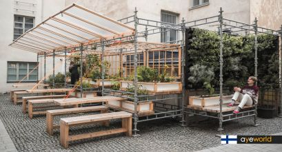 Arquitectura para el cultivo de km0: Invernadero Kasvattamo