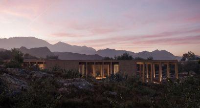 Villa Chams de Carl Gerges Architects. Arquitectura escultural de inspiración ancestral