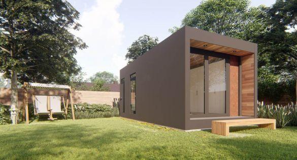 """Arquitectura de Honomobo: """"Casas hechas de contenedores que el cliente puede elegir"""""""