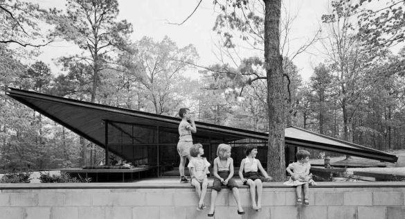 Arquitectura desaparecida. Casa en Raleigh, de Eduardo Catalano