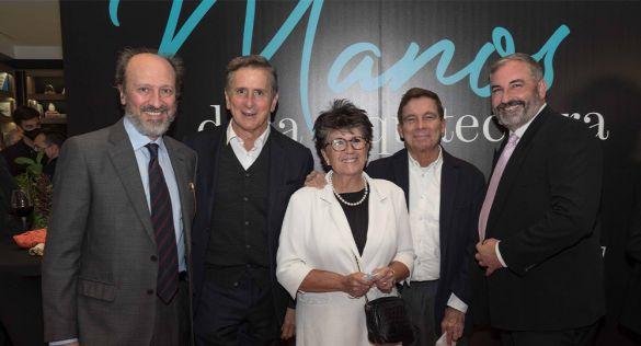 Éxito en la inauguración de 'Manos de la Arquitectura' en Cosentino City Madrid