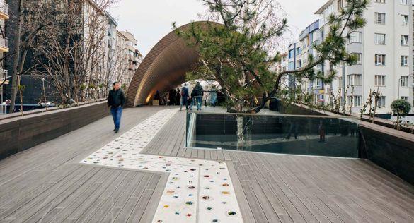 Regeneración urbana, Hamamyolu Urban Deck