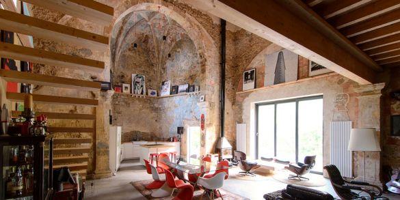 Vivienda y patrimonio: La iglesia de Tas