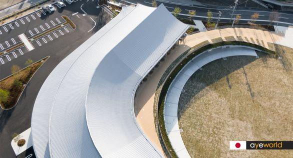 Complejo multifuncional KOKORASU de Nikken Sekkei. Arquitectura basada en la sencillez práctica