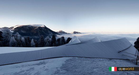 Arquitectura alpina contemporanea: Refugio de Oberholz