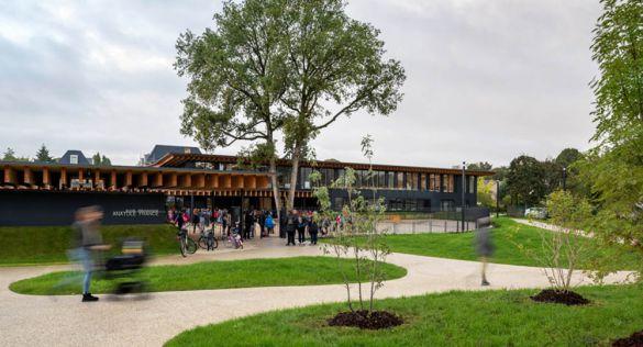 Entornos educativos sostenibles. Hessamfar & Verons  Architectes