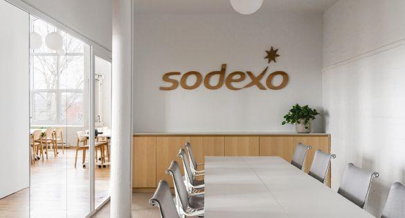 Oficina Sodexo en Montreal. Espacios de trabajo flexibles