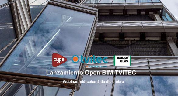 Tvitec lanza Open BIM: acristalamientos sostenibles para proyectos de arquitectos e ingenierías