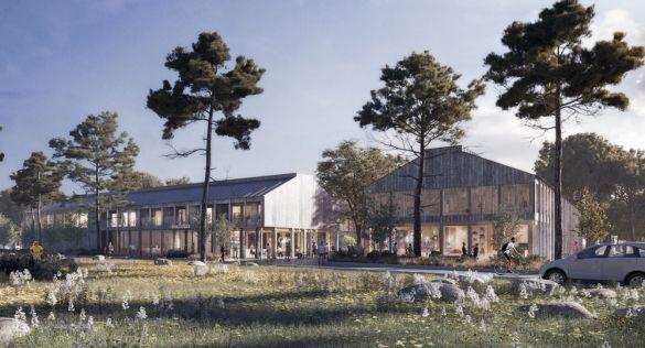 WTA diseña la nueva sede de Gotlandshem. Arquitectura multifuncional de bajo impacto ambiental