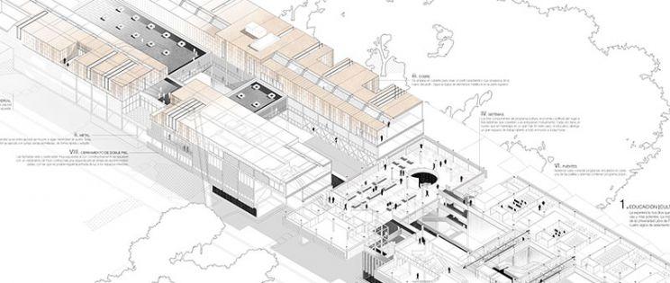 Infraestructura de condensador social en NYC. 2º ganador I Concurso PFC Arquitecturayempresa