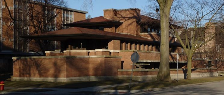 Robie House obra cumbre de la arquitectura moderna. Frank Lloyd Wrigh