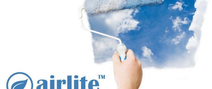 Airlite. Purificación de aire a través de la pintura de nuestro hogar
