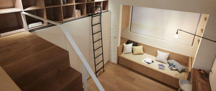 Gran vivienda y poco espacio. A Little Design