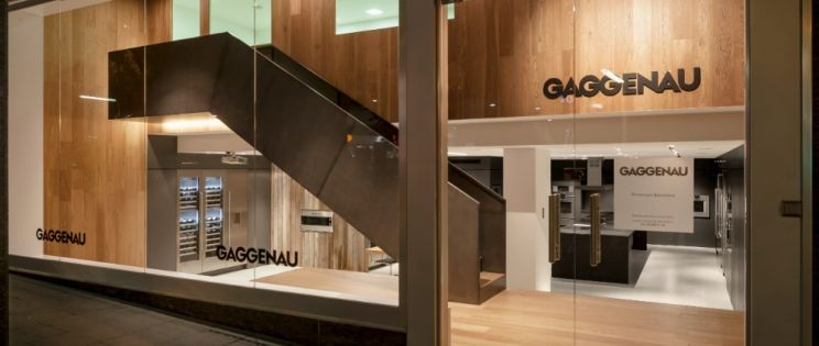 Alventosa Morell Arquitectes. Showroom Gaggenau Barcelona