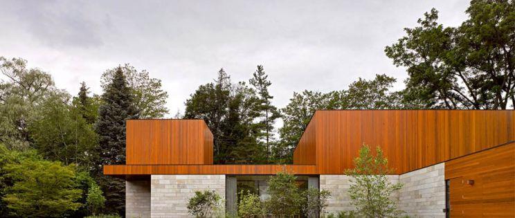 Dos viviendas en una: House on Ancaster Creek, de Williamson&Williamson