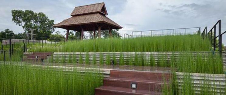 Diseño arquitectónico y ambiental. ASA Lanna Center, Tailandia. Somdoon Architects
