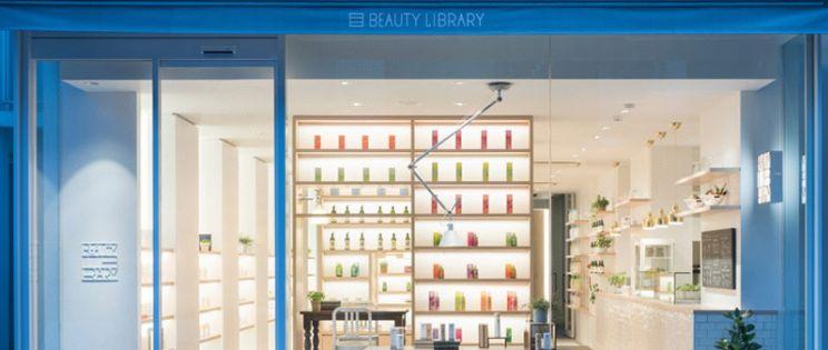 Beauty Library, arquitectura interior dedicada a la cosm�tica natural