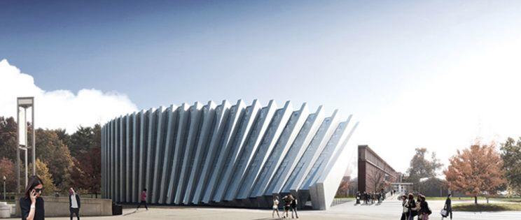 El diseño en la arquitectura: una fachada con efecto dominó.