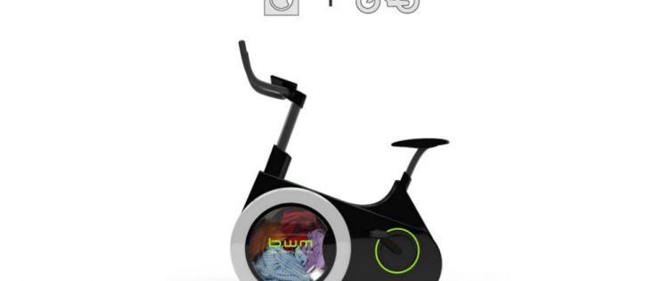 B.W.M. Una lavadora que promueve el ejercicio