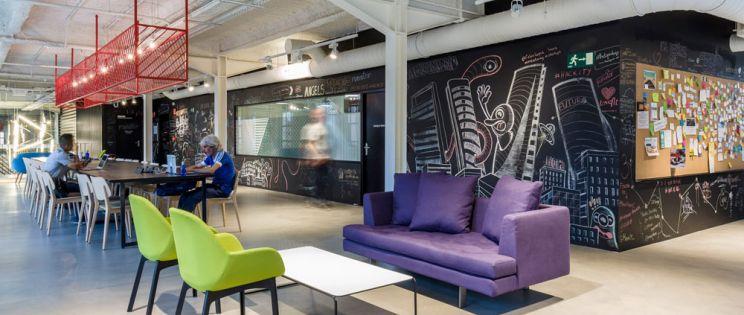 Google Campus en Madrid, arquitectura industrial habilitada para co-working