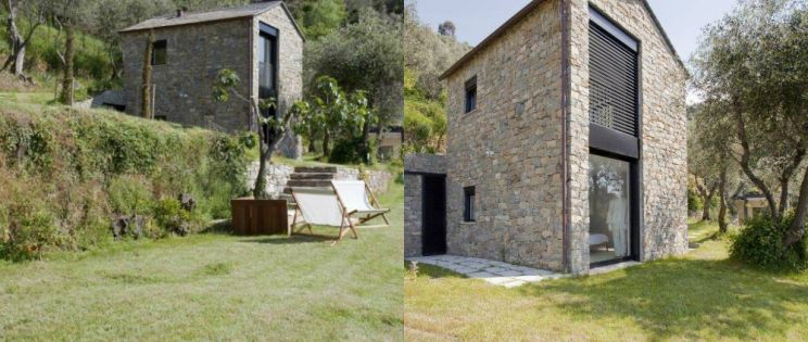 Casa Contadina. Arquitectura rural rehabilitada