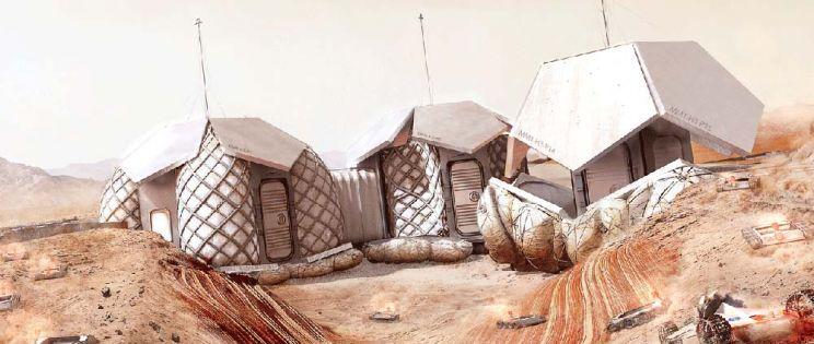 Las viviendas de Marte de Norman Foster