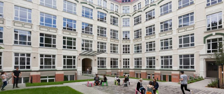 Global Institute, una f�brica convertida en residencia de estudiantes internacional