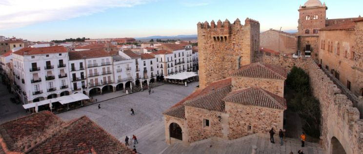 Ciudades de España. Cáceres, Patrimonio de la Humanidad