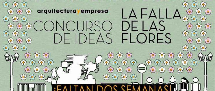 """Ya está en marcha el nuevo Concurso de Ideas """"La Falla de las Flores"""""""
