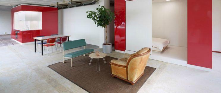 De Hub. Compartimentación interior modular