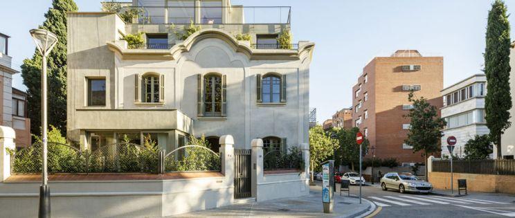 Arquitectura modernista en las Tres Torres
