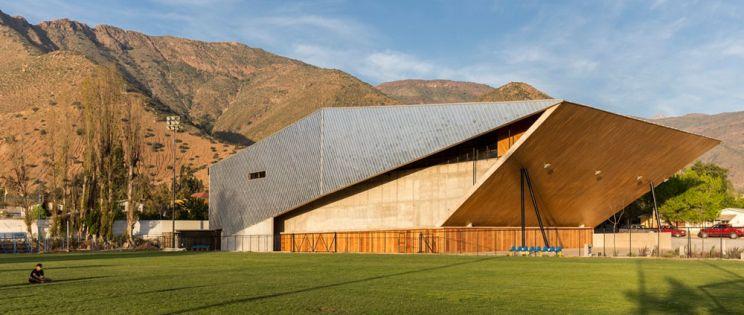 Carreño Sartori Arquitectos: Gimnasio Municipal de Salamanca, Chile