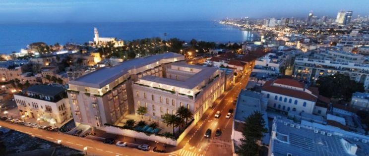 Hotel W Tel Aviv - The Residences, remodelaci�n de un antiguo convento