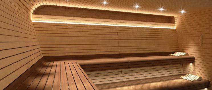 Sauna Zurich de INBECA Wellness Equipment