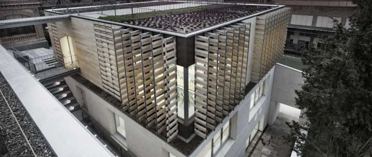 Madera estructural en fachadas