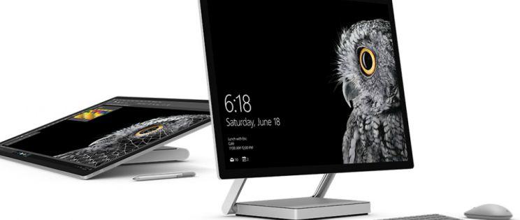 Microsoft Surface Studio. Tecnología de dibujo digital