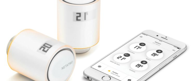 Philippe Starck diseña para Netatmo. Calefacción inteligente