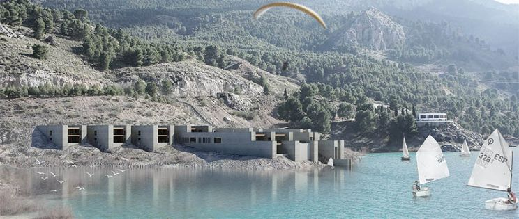 Paisajes de L�mites Variables.  Proyecto finalista en el I Concurso PFC Arquitectura y Empresa