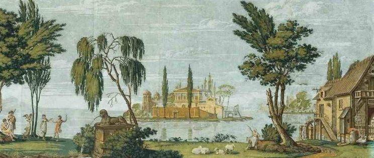 Vestir la arquitectura: los papeles pintados históricos