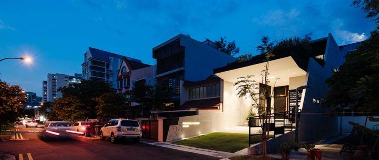 Arquitectura religiosa con carácter residencial: Emmanuel @ Everitt, People´s Church, Singapur. Poiesis Architects