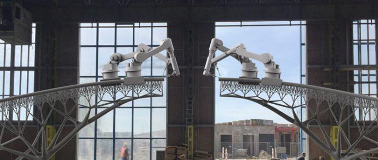 El nuevo puente de �msterdam, arquitectura futurista de Joris Laarman