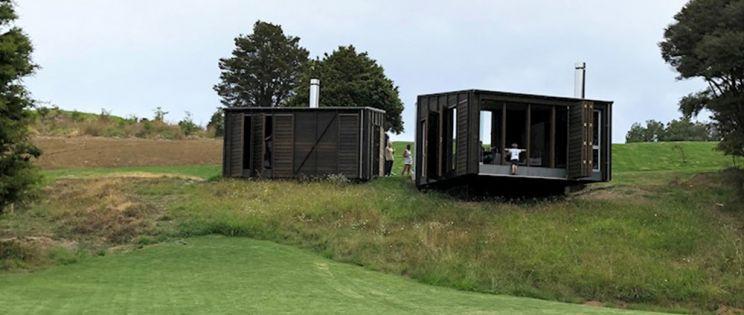 The Camp, arquitectura en plena naturaleza. Nueva Zelanda. Fearon Hay Architects