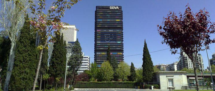 La Torre del Banco de Bilbao de Sa�nz de Oiza