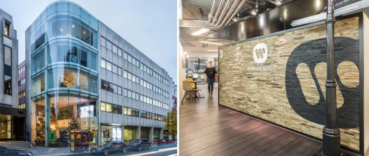 Proyecto Warner Music HQ en Londres por el estudio de arquitectura Woods Bagot