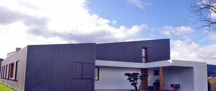 Casa en Muros, una vivienda con criterios bioclimáticos