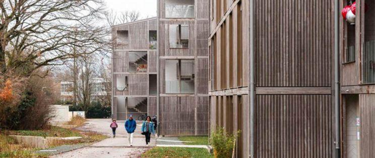 49 apartamentos y guardería en Chêne-Bougeries, Bonhôte Zapata Architects