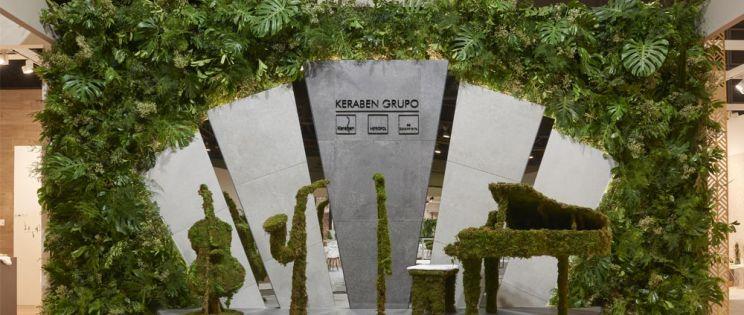 Cevisama 2020 al ritmo de la música de la mano de Keraben Grupo